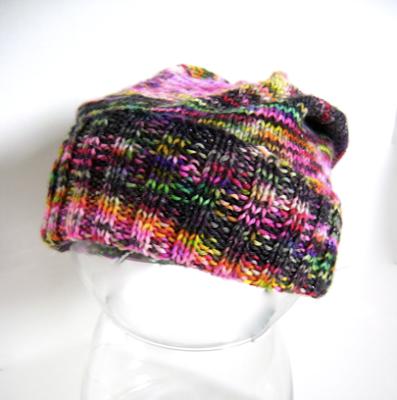 Baby Hat Knitting Pattern Sock Yarn : Creative Designs by Sheila Zachariae: Baby Slouchy Hats ...