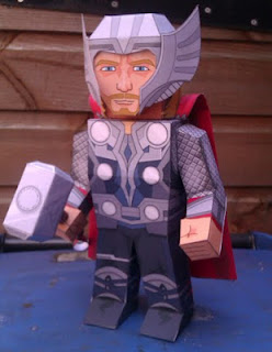 The Avengers, Thor Papercraft-1