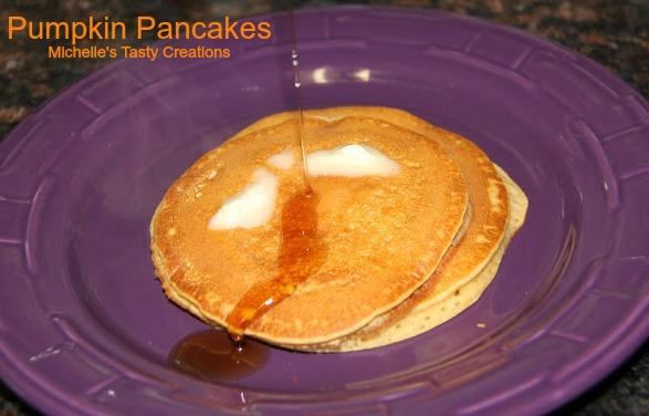 Michelle's Tasty Creations: Pumpkin Pancakes