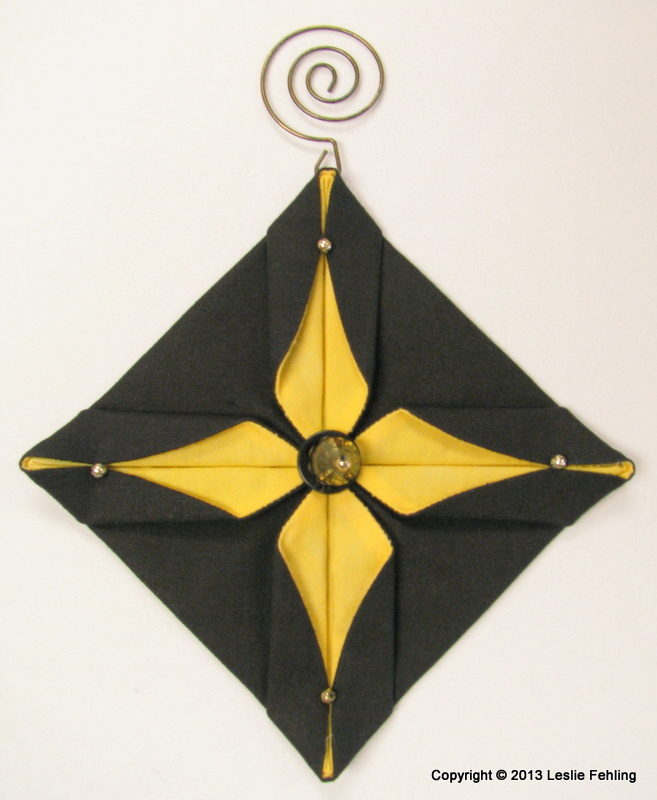 Everyday Artist: Fabric Origami
