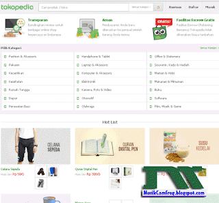 tokopedia toko online terpercaya di indonesia