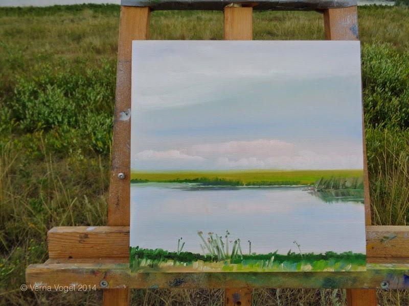 verna vogel plein air painting