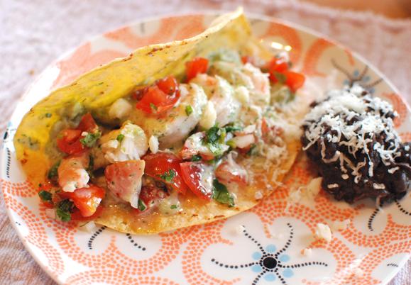 Baja-Style Tempura Fish Tacos Recipes — Dishmaps