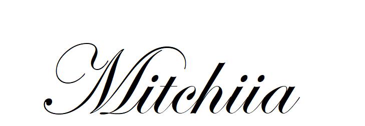 Mitchiia de su mundo