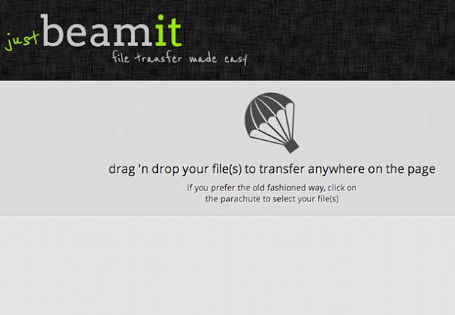 Justbeamitb : envoi de fichiers gratuit à vos amis