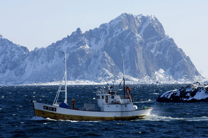 норвегия рыбак
