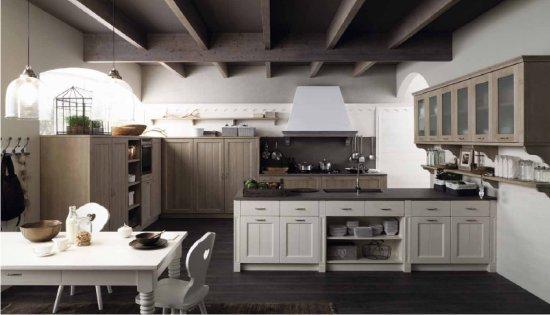 arredamento e casa: la cucina che entra a far parte del living - Living Soggiorno Cucina