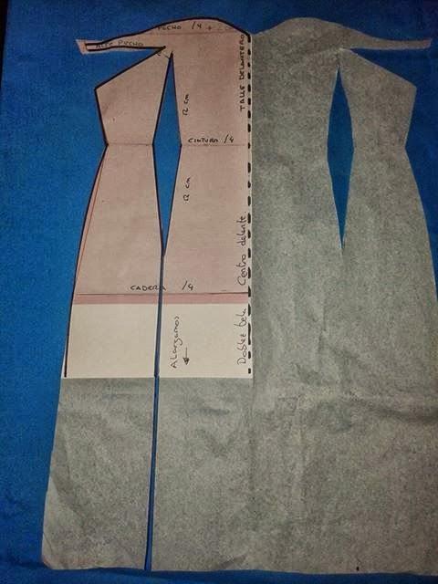 Платье в два шва своими руками 12