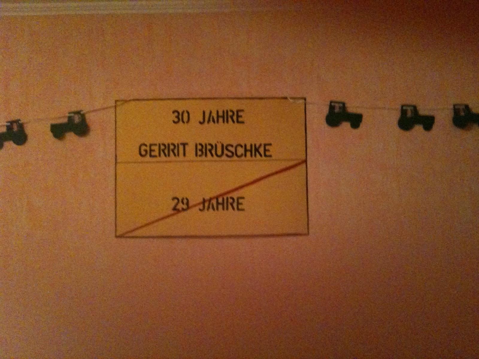... Garten Tags Deko Haus No Sieben Geburtstags ...