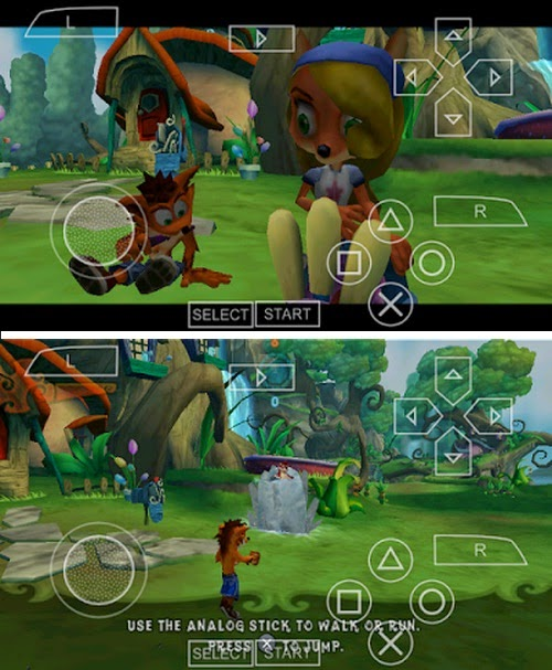 Game PPSSPP Crash Of The Titans ISO