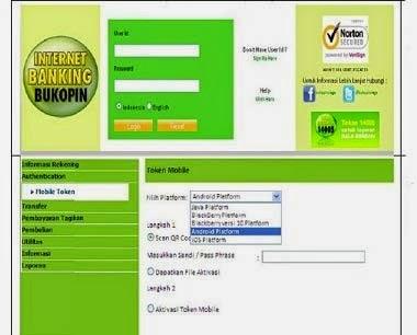 Cara Aktivasi Mobile Token Internet Banking Bukopin