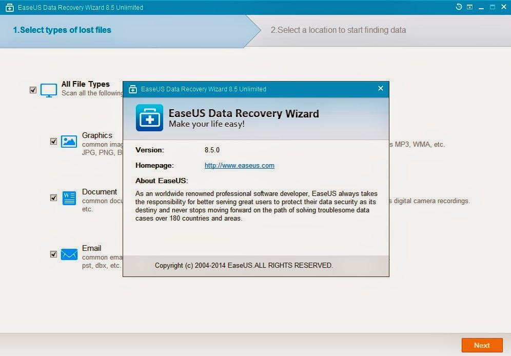 easeus data recovery wizard 8.5 keygen free