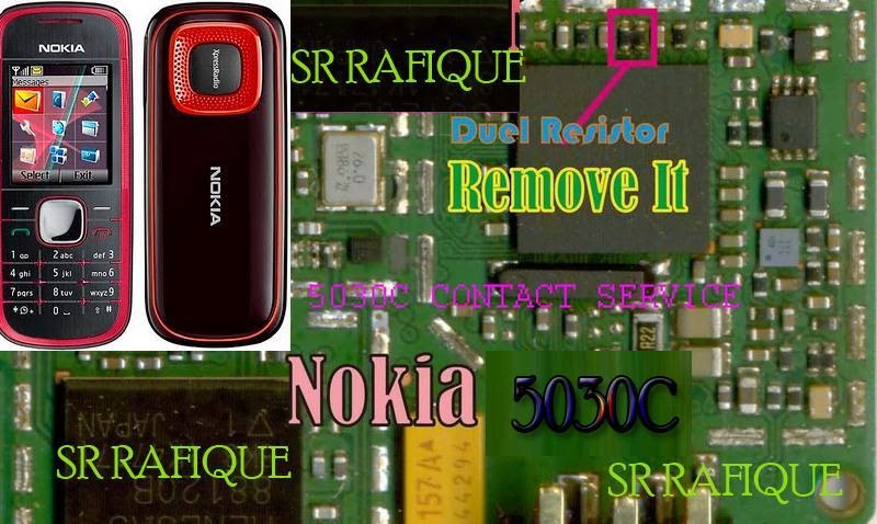 contact service hardware solution, nokia 5030 contact service problem