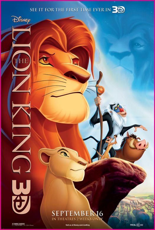 "Disney's ""Lion King"" - in 3D! - YouTube"