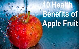 10 Health Benefits of Apple Fruit