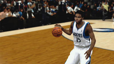 NBA 2K13 Mickaël Gelabale Cyberface Afro Patch