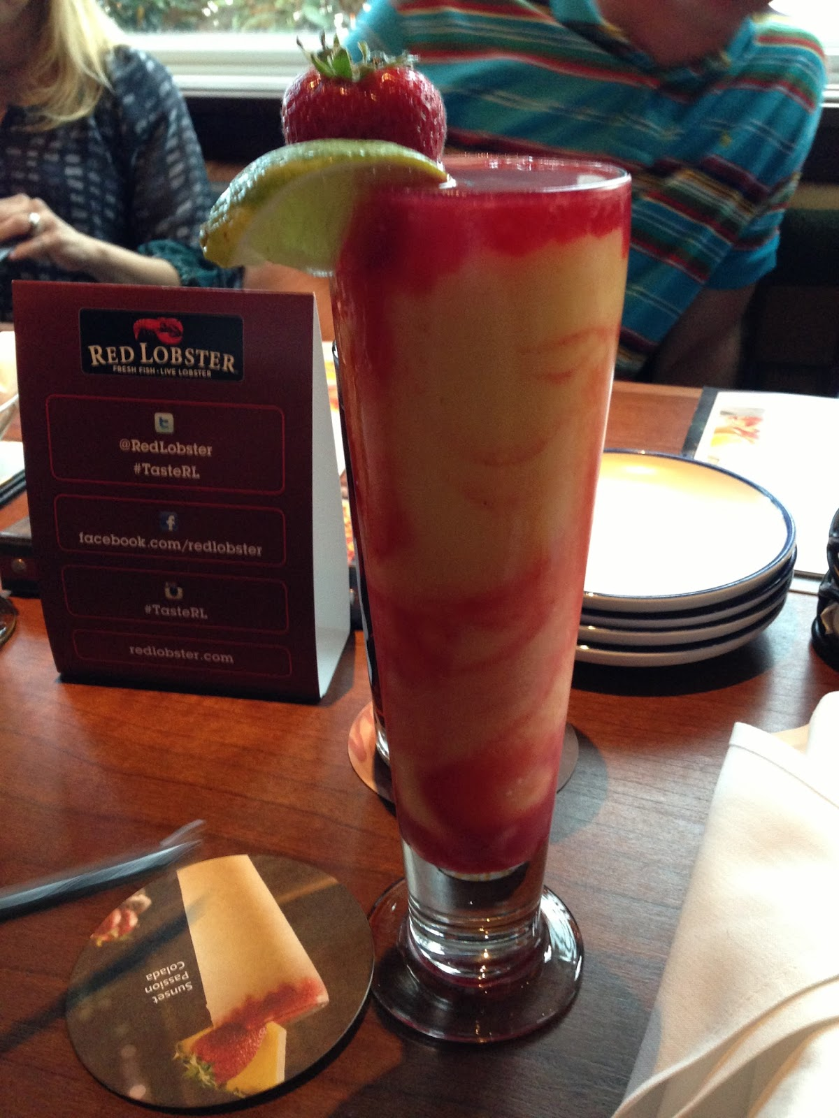 once upon a run: clermont blogger dinner- red lobster