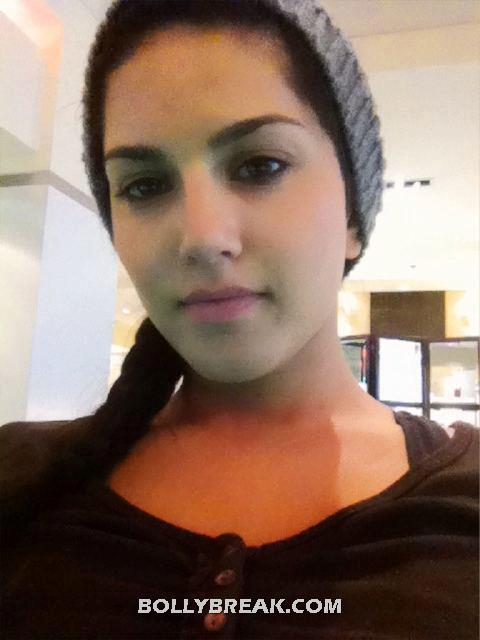 Sunny Leone with no makeup - (5) - Sunny Leone in Real Life