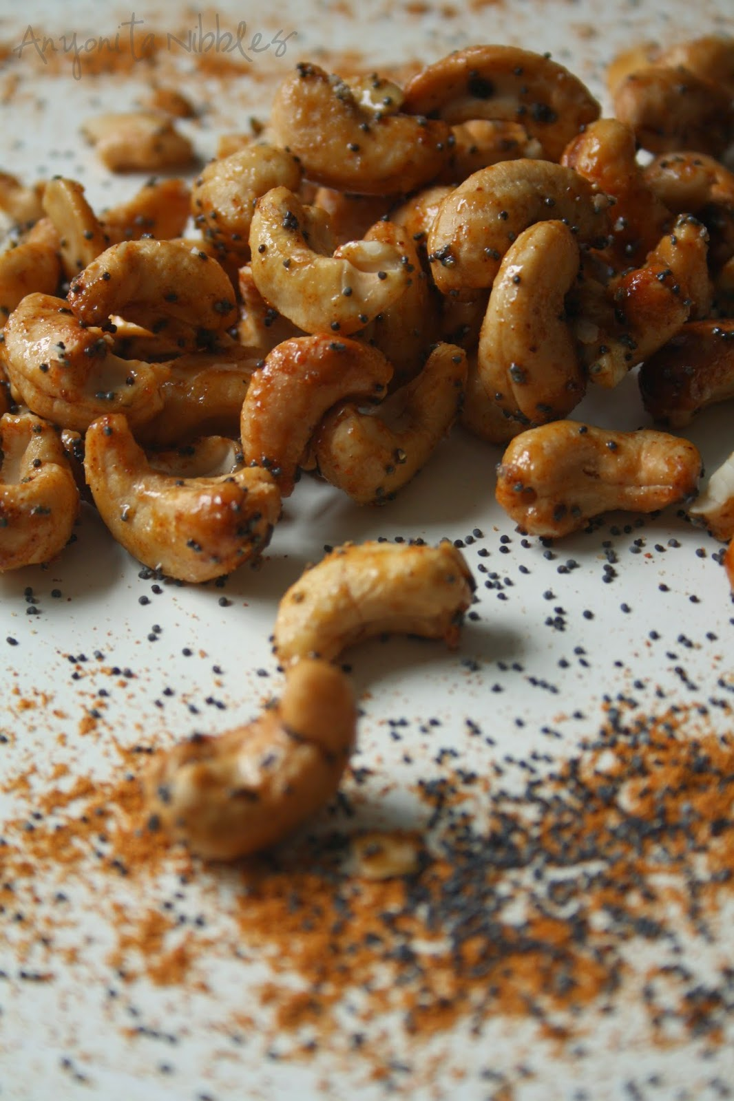 Tikka Curried Cashewsfrom Anyonita Nibbles