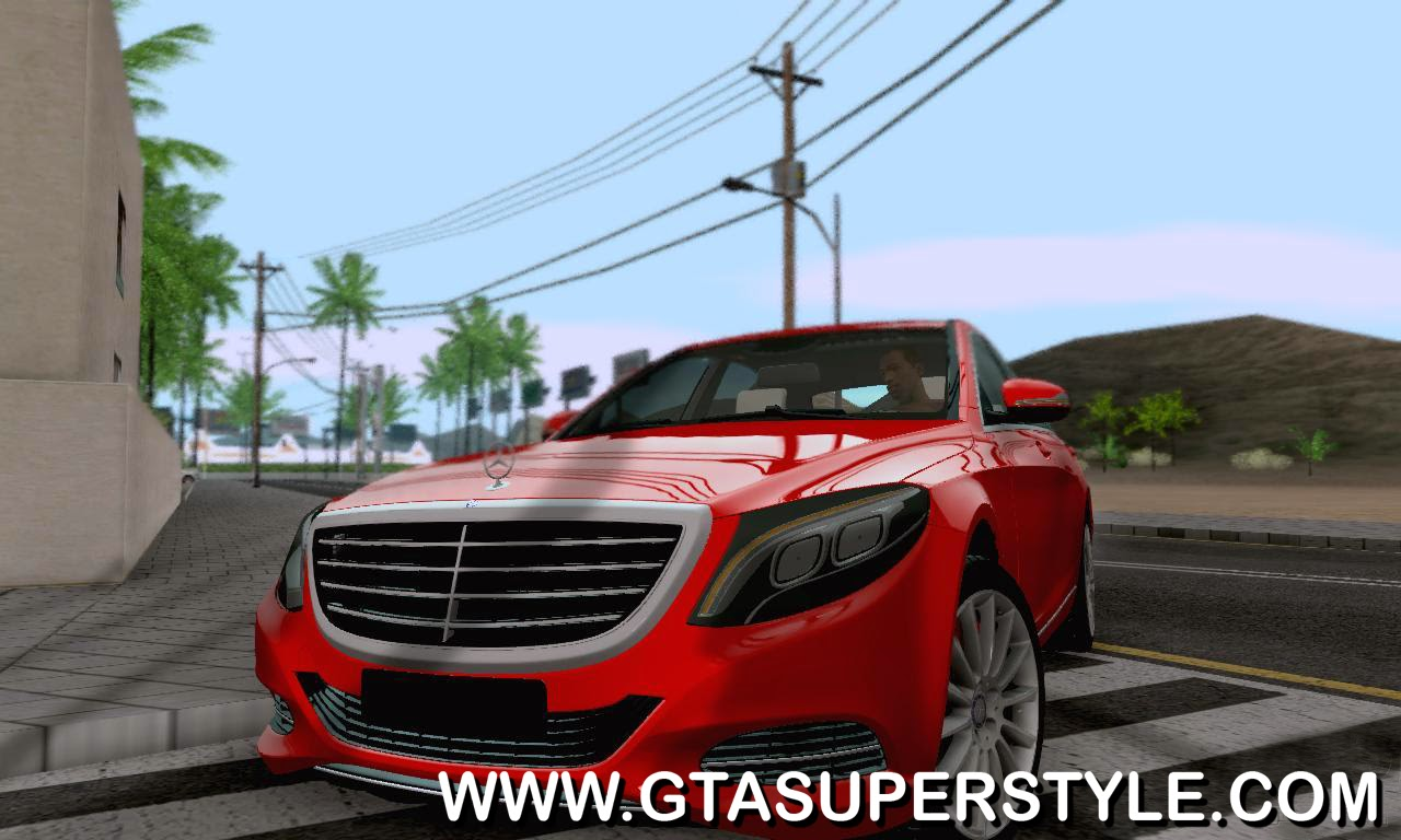 GTA SA - Mercedes-Benz W222