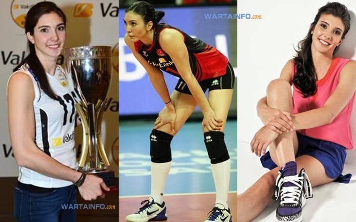 Foto Hot Naz Aydemir Atlet pemain voli Wanita Turki tercantik Terseksi di dunia
