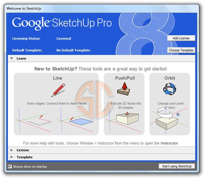 Google sketchup pro 8 full crack eyang dubur for Google sketchup converter