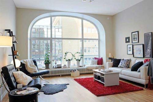 gambar ruang tamu minimalis modern