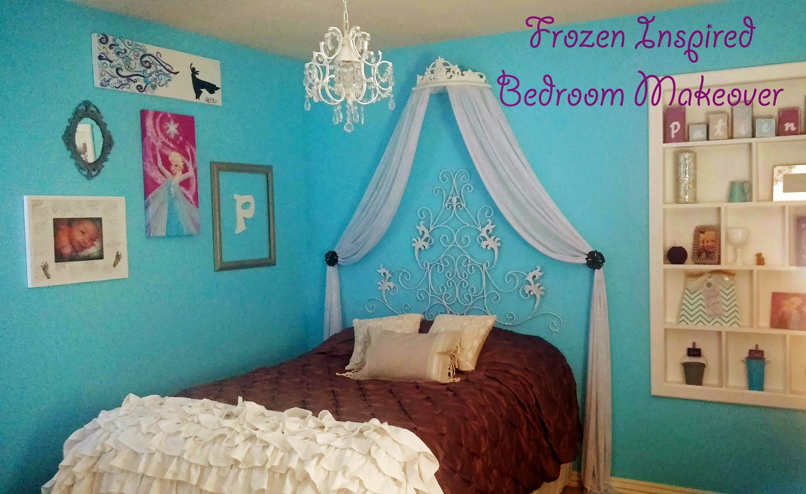 Frozen inspired bedroom - Bedroom