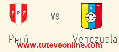 Perú vs Venezuela - Amistoso
