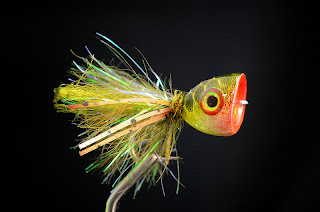bluegill popper fly pattern yearofthebluegill