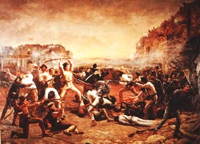 The Fall Of Alamo