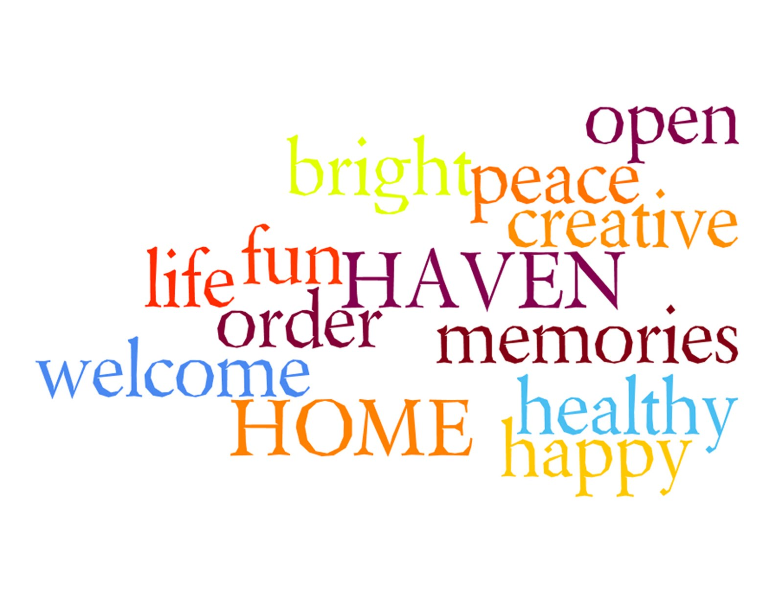 Better life blog create your own subway art with wordle