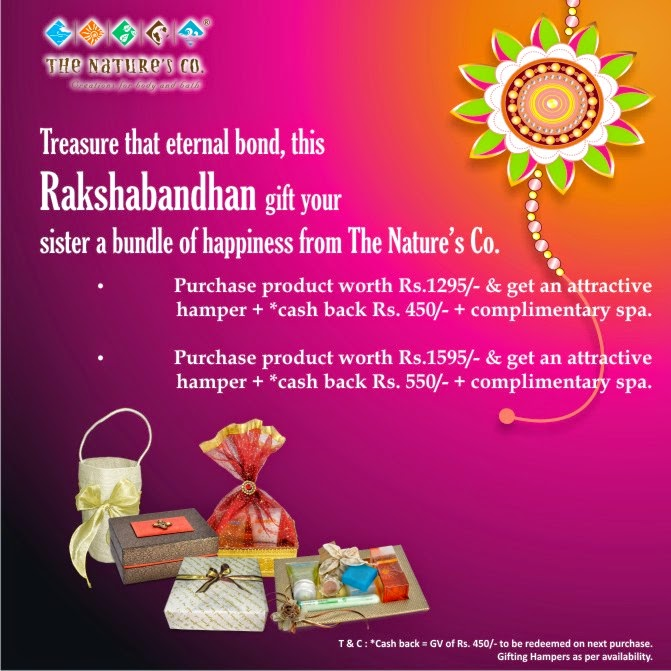 Rakhi Offer from The Nature's Co.