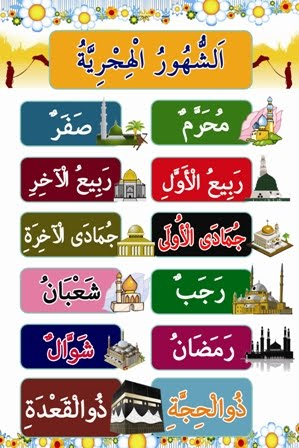 Nama bulan dalam Islam