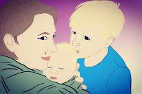 Mama, Bartek i Kacper
