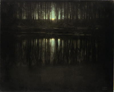 Edward Steichen's The Pond-Moonlight
