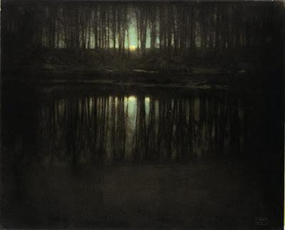 Edward Steichen's The Pond-Moonlight