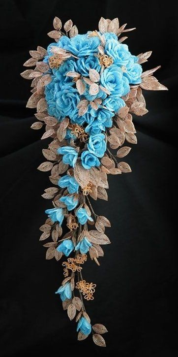 bidding flowers artcraft