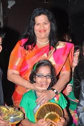 M.D. Madam Pinto (RIGI) with Afsha Musani