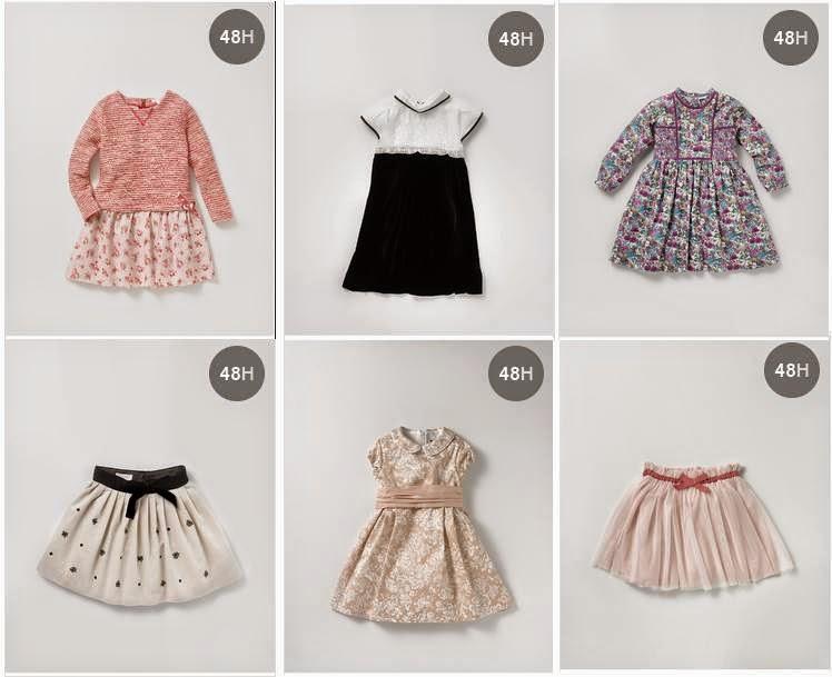 Faldas y Vestidos de Niñas ECI 14-15