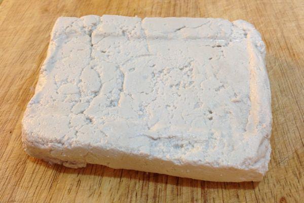nufu - peanut curd - peanut tofu