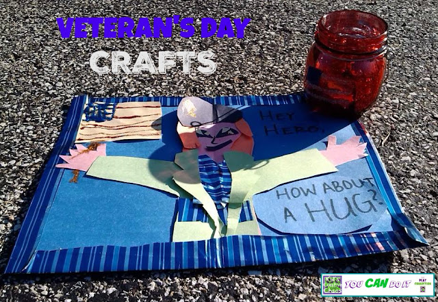 Veteran's Day Craft Ideas for Kids.