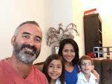 Me, Mariell, Silvia, and Esteban