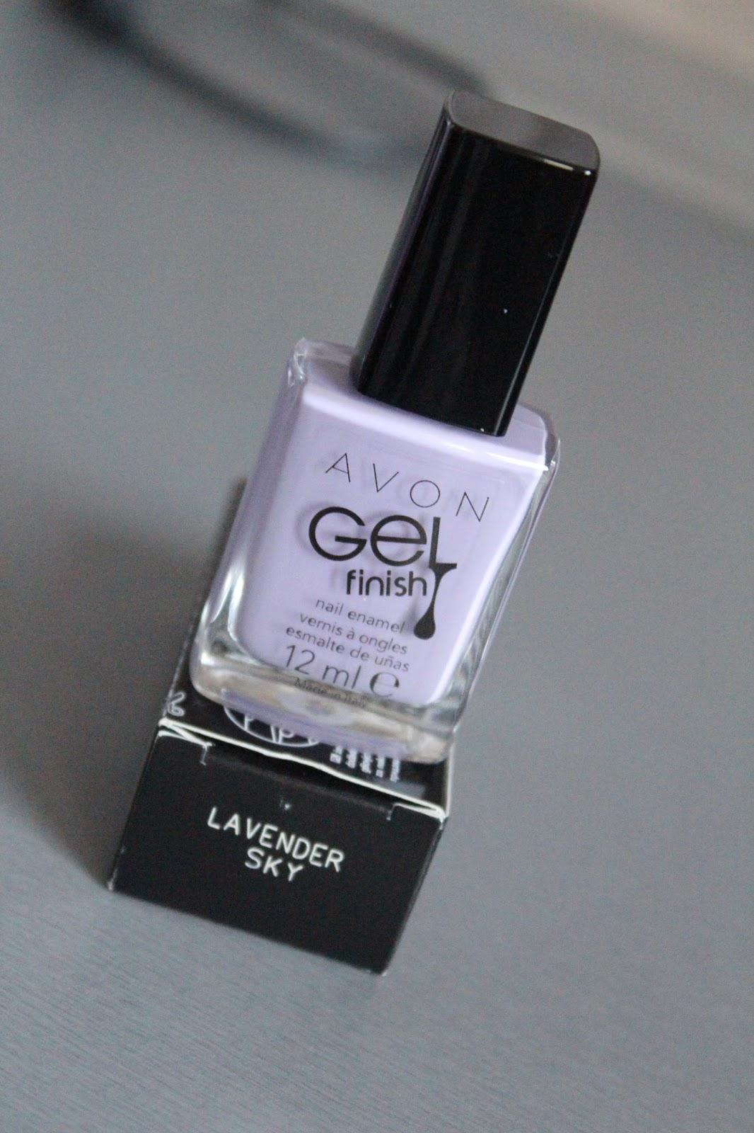 Avon Gel Finish lak za nokte Lavender Sky