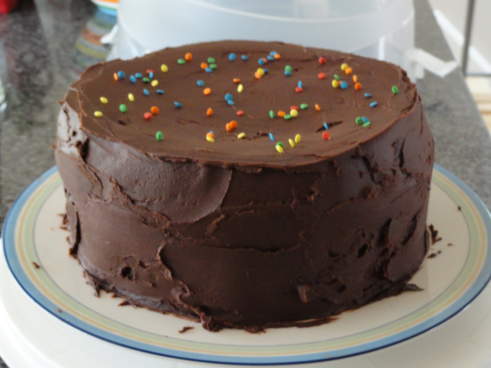 Caitlin's Cookbook: Dad's Birthday Chocolate Cake