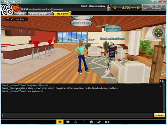 sl chat room