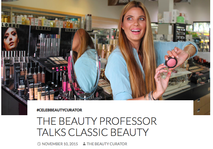 Beauty Collection Nov'15 Beauty Curator