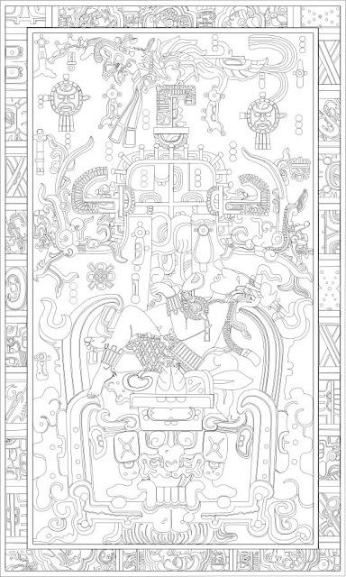 K'inich Janaab' Pakal, simbol teratai