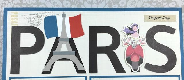 Cricut Paris Layout