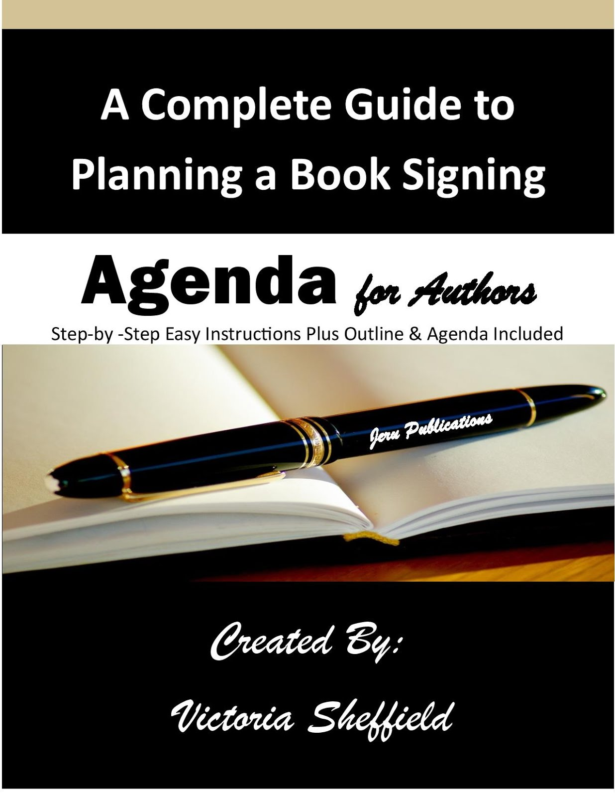 Learn how to plan the perfect book signing.